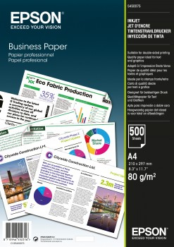 Eps450075      Epson Business Paper 80gsm     C13s450075                                                   - UF01