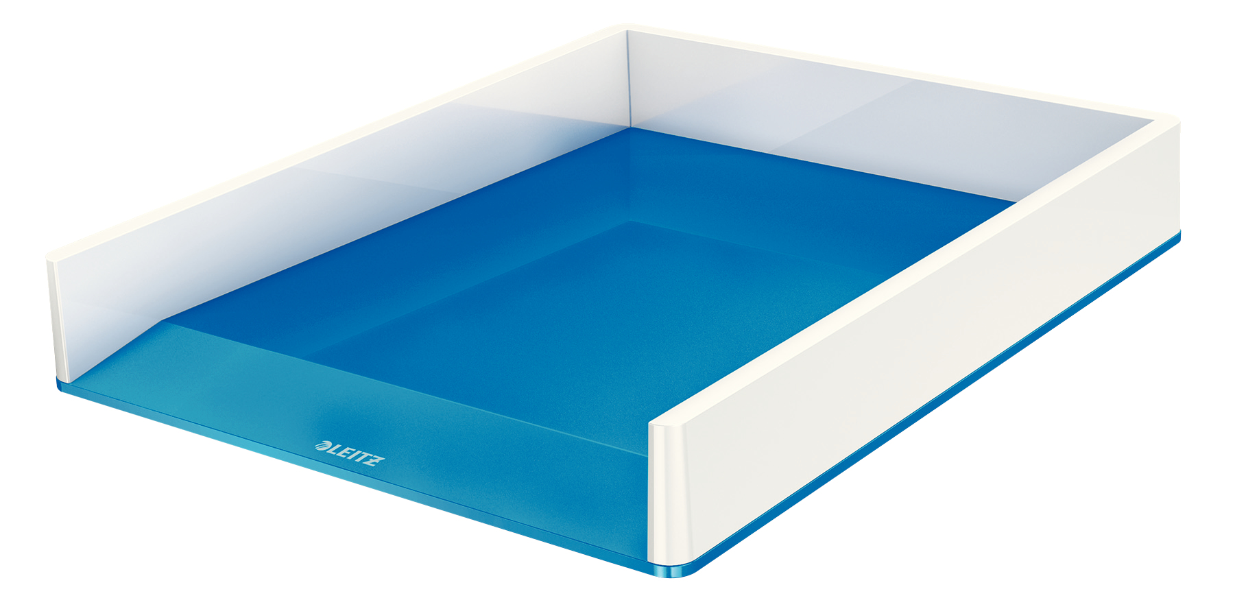 esselte Leitz Wow Duo Colour Letter Tray A4 Blue 53611001 (pk1) 53611036 - AD01