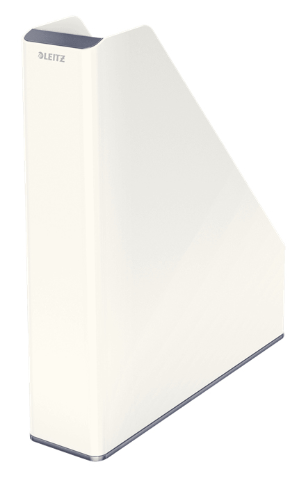 esselte Leitz Wow Duo Colour Magazine File A4 White 53621001 (pk1) 53621001 - AD01