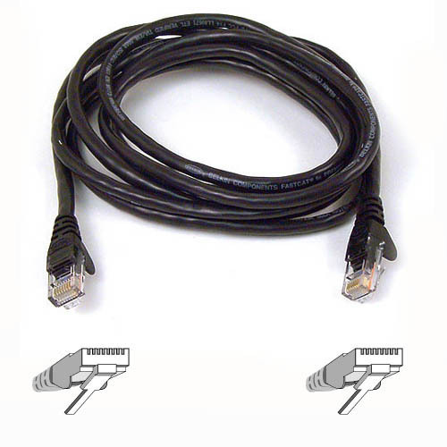 Belkin Cat6 Patch Cable Black 1m A3l980b01m-blks - WC01
