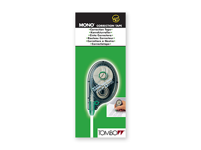 tombow Tombow Correction Tape Mono Yt  4.2mm X 10m Pk1 Ct-yt4 - AD01