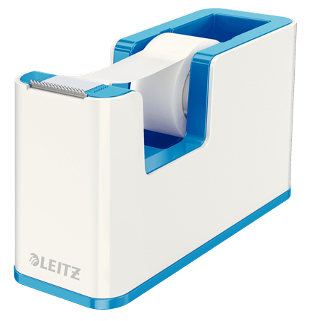 esselte Leitz Wow Duo Colour Tape Dispenser Blue 53641036 (pk1) 53641036 - AD01