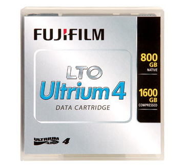 Fuji - 5 X LTO Ultrium 4 - 800 GB / 1.6 TB - Labeled - For PRIMERGY RX2540 M1, RX2540 M2, RX2560 M1, RX600 S6, TX1320 M2, TX1330 M2, TX2560 M1 D:CR-LTO4-05L - C2000