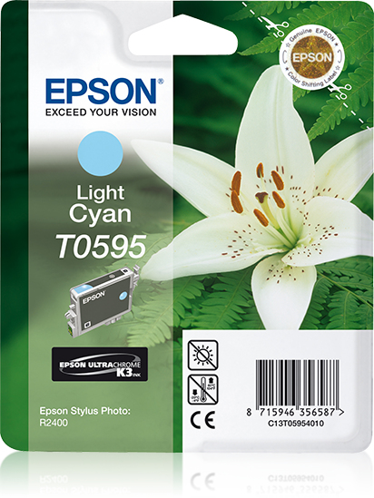 epson Epson Stylus R2400 Light Cyan Ink Cartridge C13t05954010 - AD01