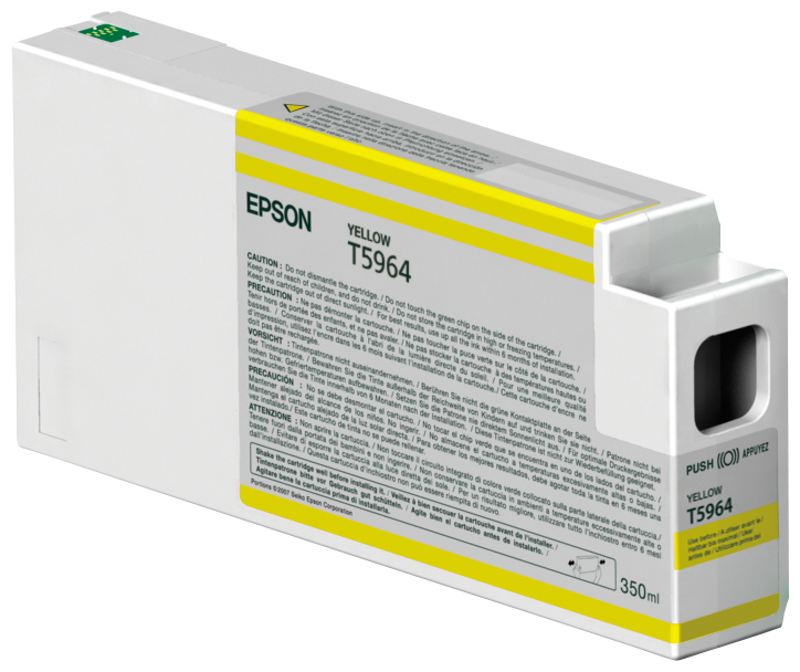 Epson Epson Yellow Ink 7900/9900 350ml C13t596400 - AD01