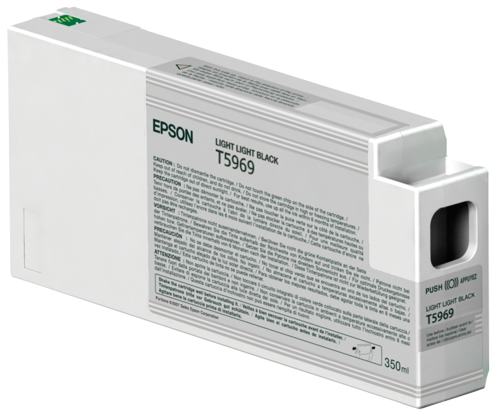 Epson Epson Light Light Black Ink 7900/9900 350ml C13t596900 - AD01