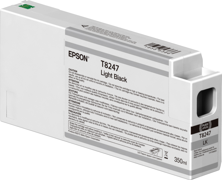 Epson Epson T8247 Ink Cartridge Light Black 350ml C13t824700 - AD01