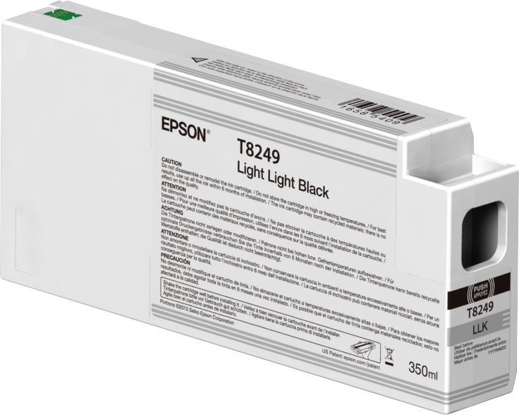 Epson Epson T8249 Ink Cartridge Light Light Black 350ml C13t824900 - AD01