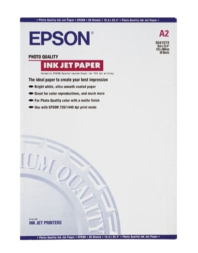 Epsso41079     Epson A2 Photo Ink Jet Paper   A2 Photo Quality Ink Jet Paper                               - UF01