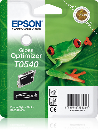 Epst054040     Epson T0540 Gloss Optimiser     Stylus Photo R800 R1800                                     - UF01