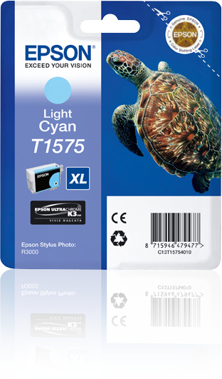Eps Light Cyan Ink Cart Turtle Xl C13t15754010 - WC01