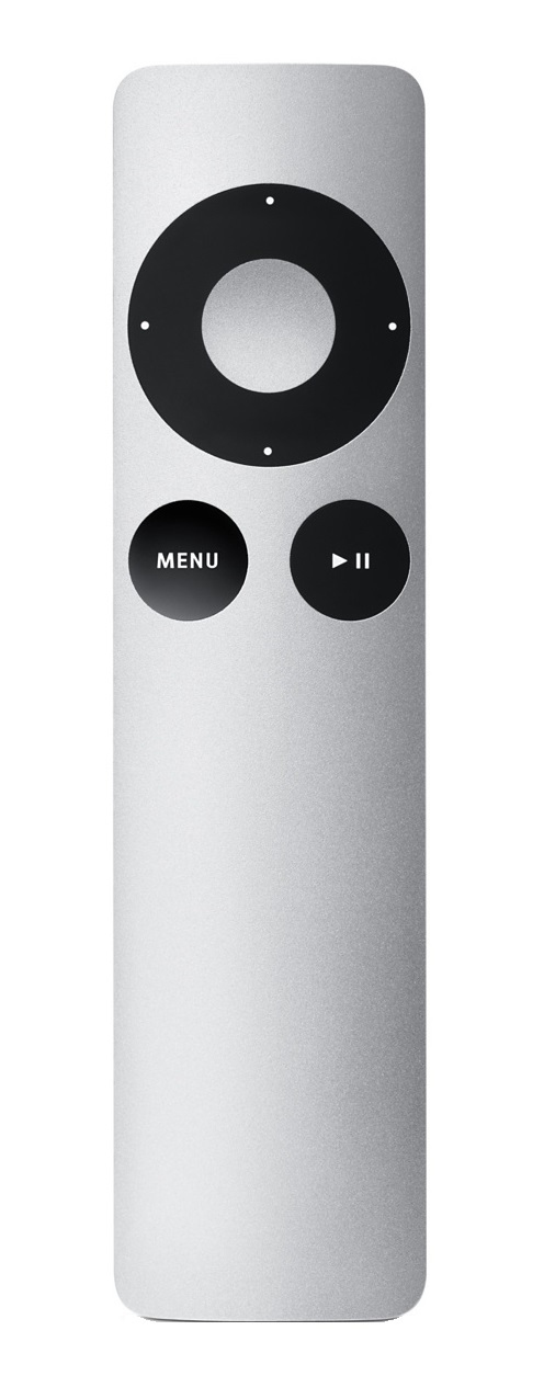 Apple Remote - Remote Control - Infrared - For Apple TV (2nd Generation, 3rd Generation) MM4T2ZM/A - C2000