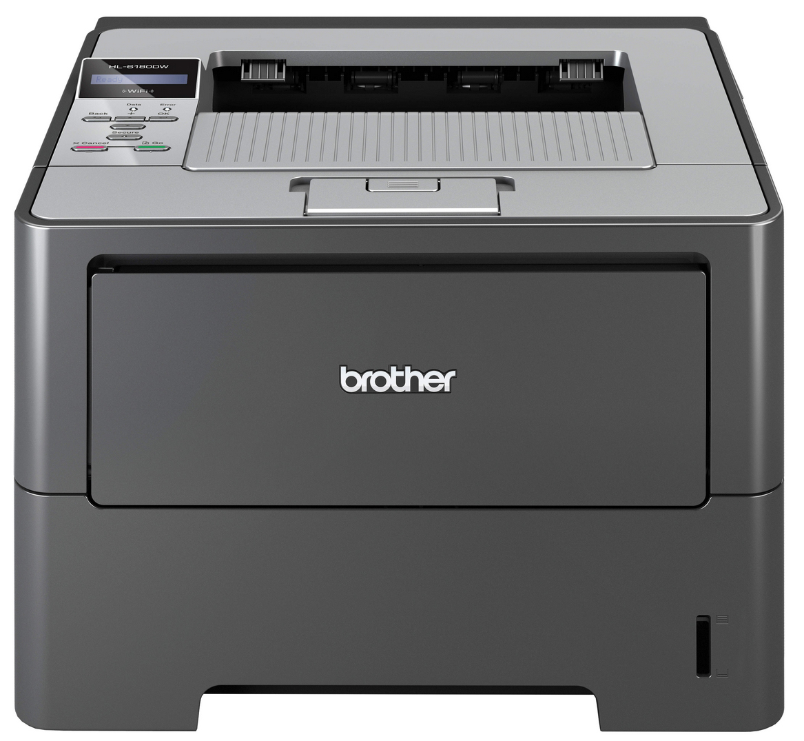 Brother HL-6180DW Mono Laser Printer HL-6180DW - Refurbished