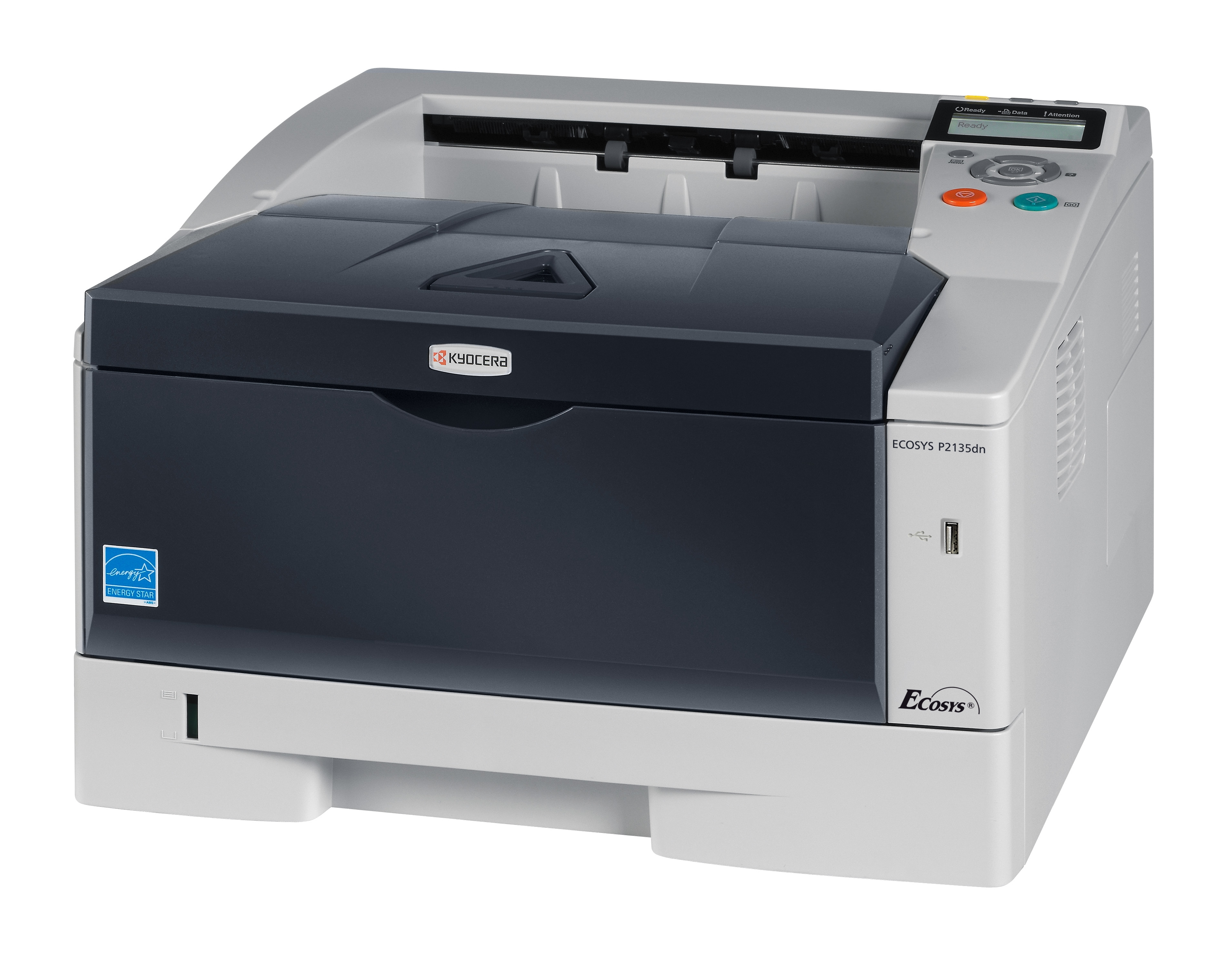 Kyocera FS-P2135DN Mono Laser Printer FS-2135DN - Refurbished