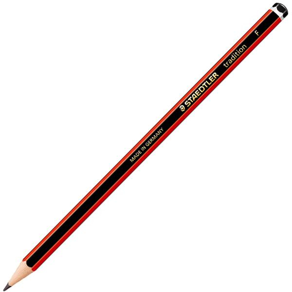 staedtler 110 Tradition F Pencil Pk12 110-f - AD01