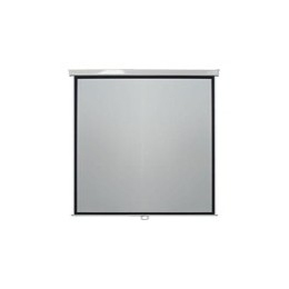 A Range Of Pull Down Projection Screens. Matte White Woven Cloth With 4 Black Borders To Enhance The Projected Image. Simply Fix To Wall Or Ceiling With End Cap Mounting Brackets. Optional Ex - C2000