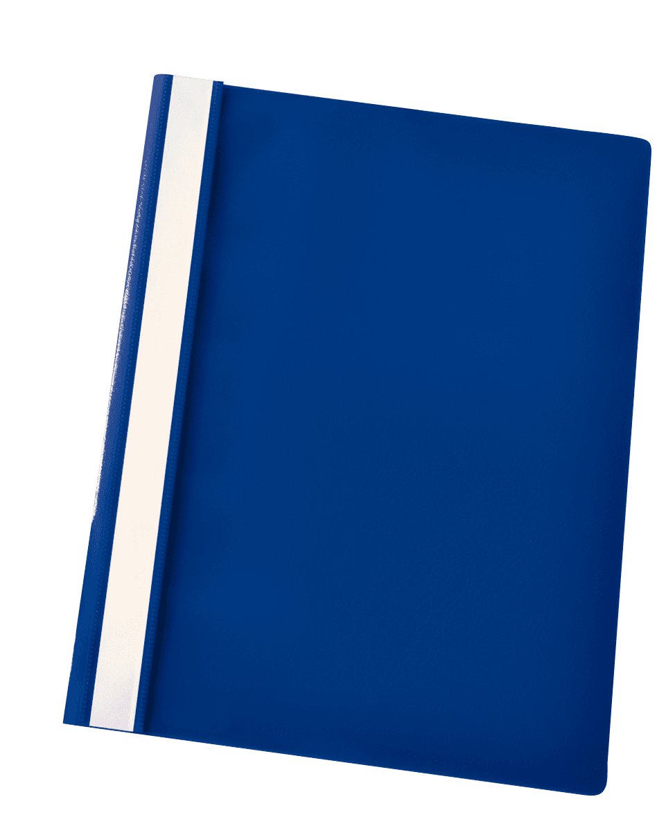 esselte Esselte Plastic Report File Dark Blue Pk25 28315 - AD01