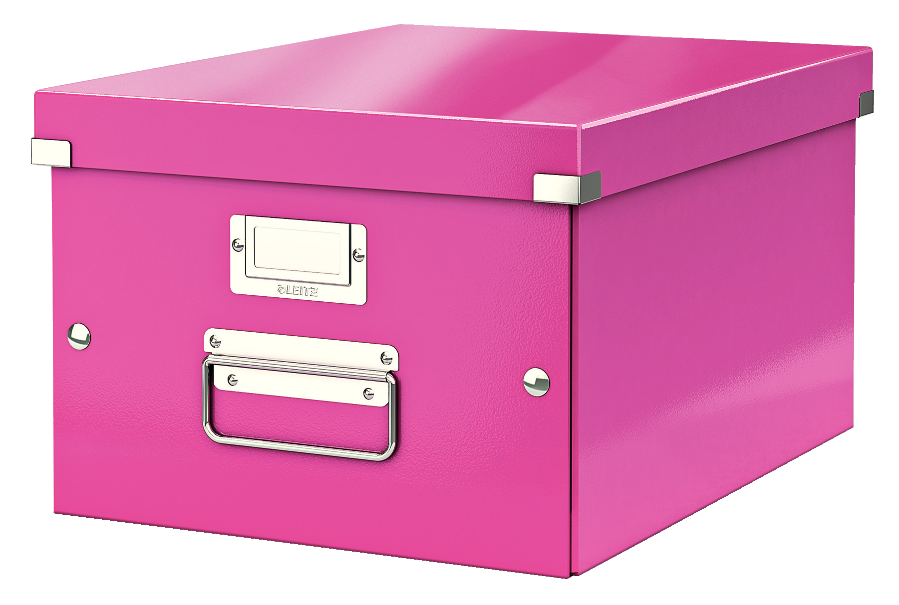 esselte Leitz Click & Store A4 Medium Box Pink 60440023 - AD01