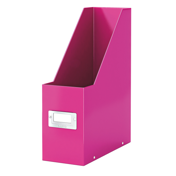 esselte Leitz Click & Store A4 Magazine File Pink 60470023 - AD01