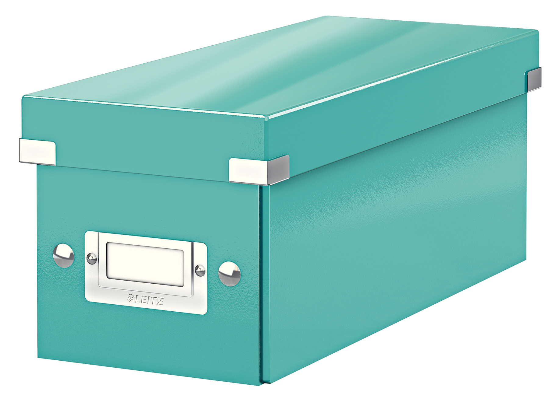 esselte Leitz Click & Store Cd Storage Box Ice Blue 60410051 - AD01