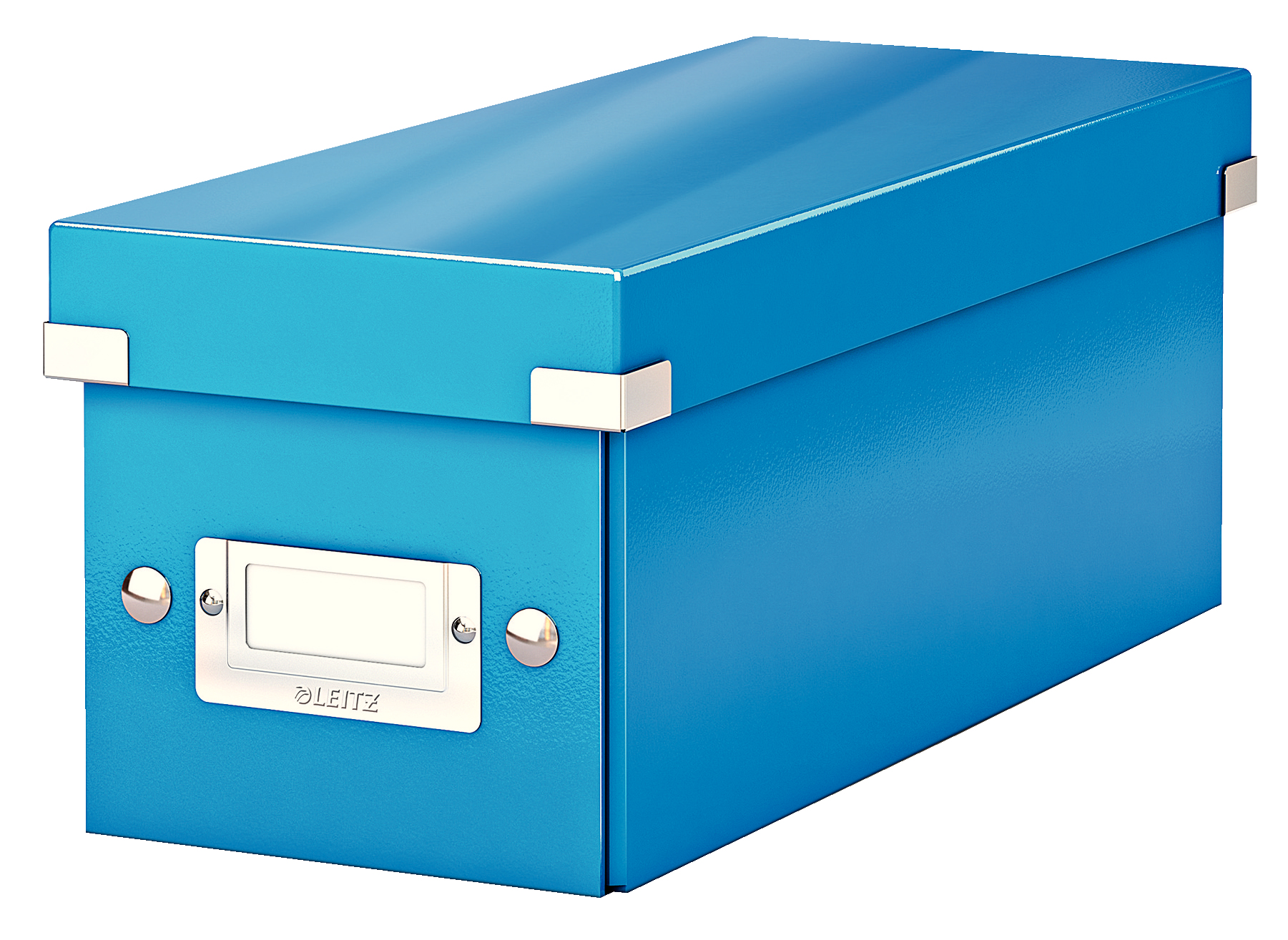 esselte Leitz Click & Store Cd Storage Box Blue 60410036 - AD01