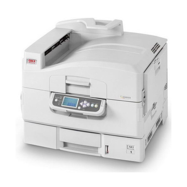 91651008 Oki C9850 Colour Laser Printer - Refurbished with 3 months RTB Warranty.
