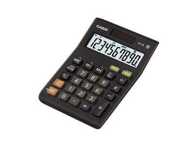 casio Casio Ms-10b 10 Digit Desktop Calculator Ms-10b-s-ec - AD01