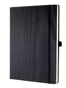 sigel Sigel Conceptum Notebook Hardcover Lined 213x295x20mm Black Co112 - AD01