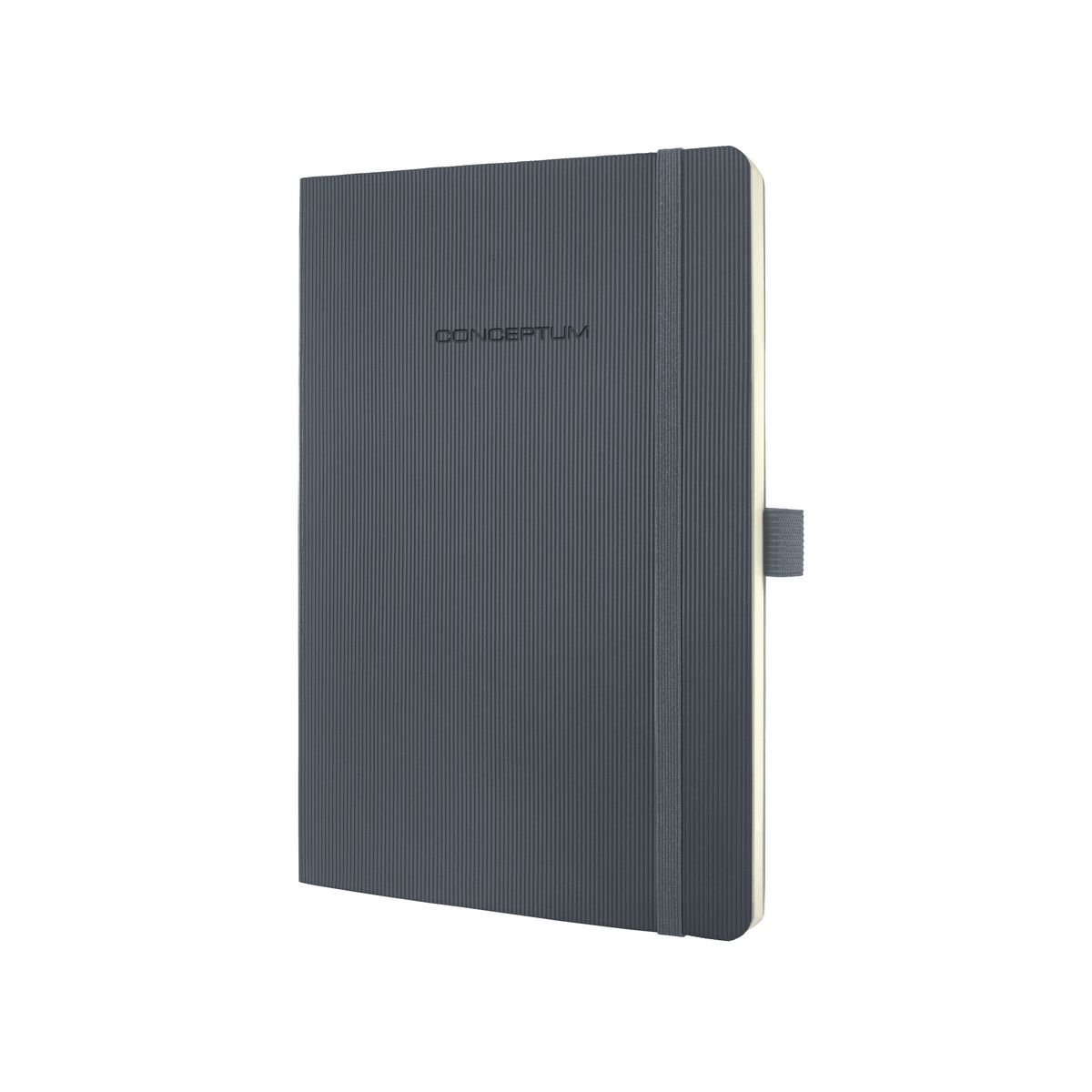 sigel Sigel Conceptum Notebook Softcover Lined 135x210x14mm D Grey Co329 - AD01