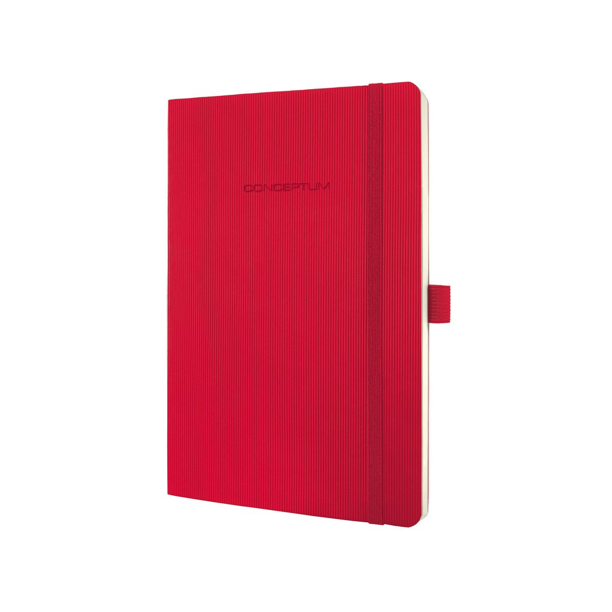 sigel Sigel Conceptum Notebook Softcover Lined 135x210x14mm Red Co325 - AD01