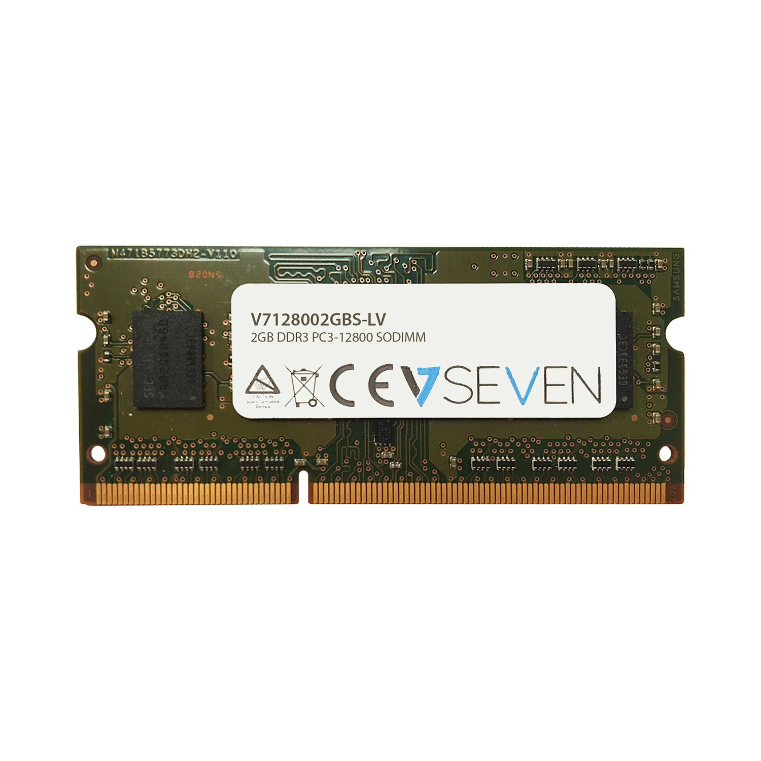 V7 - Hypertec                    2gb Ddr3 1600mhz Cl11               So Dimm Pc3l-12800 1.35v            V7128002gbs-lv