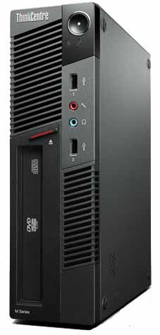 Lenovo ThinkCentre M91p SFF Desktop, I5 processor 2400, 4GB RAM, 250GB HDD, Windows 7 - Refurbished
