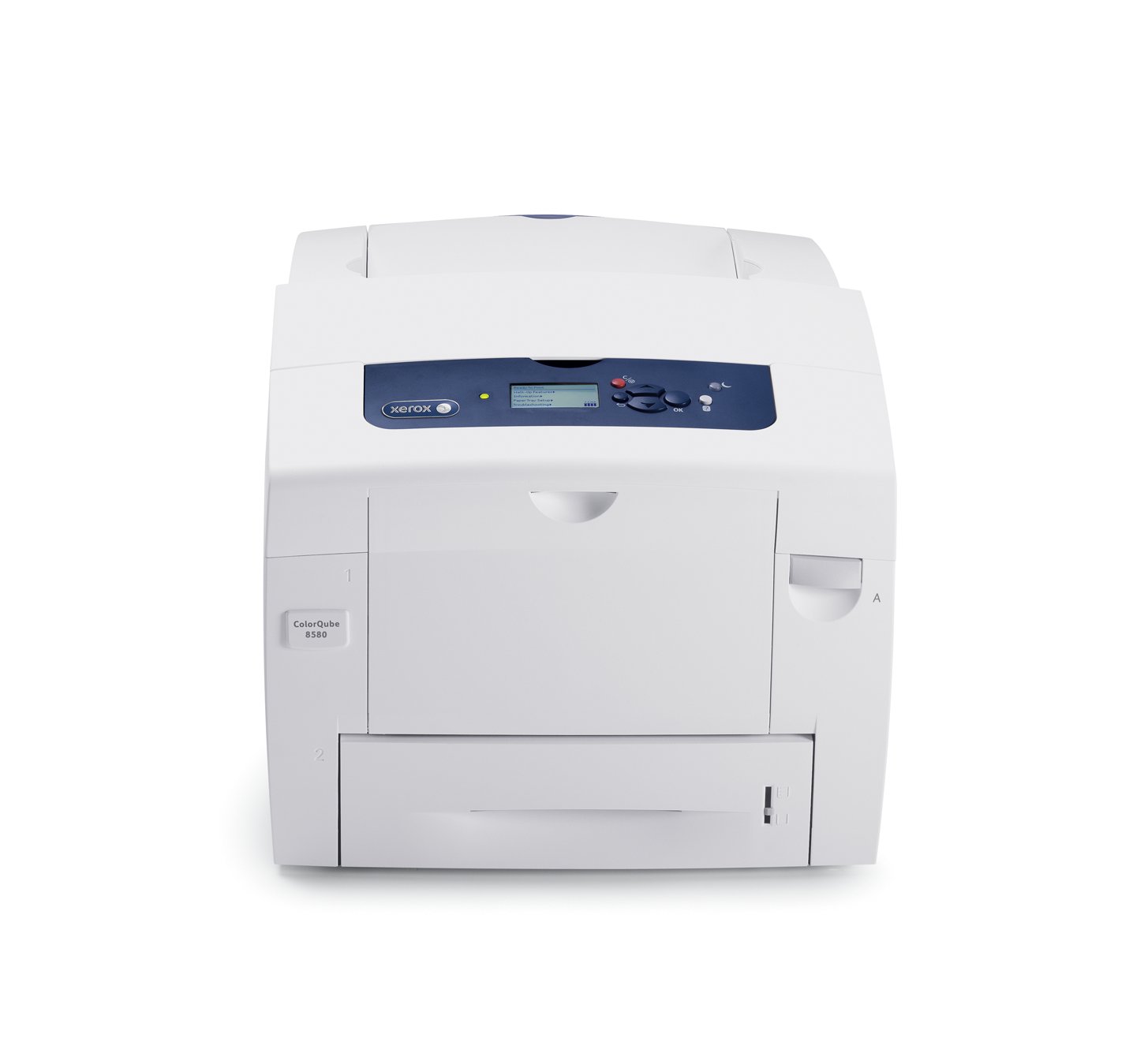 Xerox ColorQube 8580_AN - Printer - Colour - Solid Ink - A4/Legal - Up To 51 Ppm (mono) / Up To 51 Ppm (colour) - Capacity: 625 Sheets - USB 2.0, Gigabit LAN 8580_AN - Refurbished