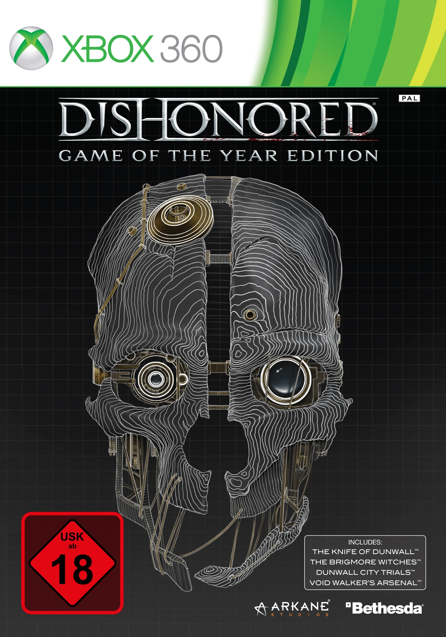 Dishonored: GOTY Edition - Age Rating:18 (PC Game) 769003 - C2000
