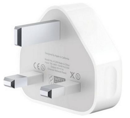 MicroSpareparts Mobile AC Adapter USB UK 5V 1000mAh MSPP2511/UK - eet01