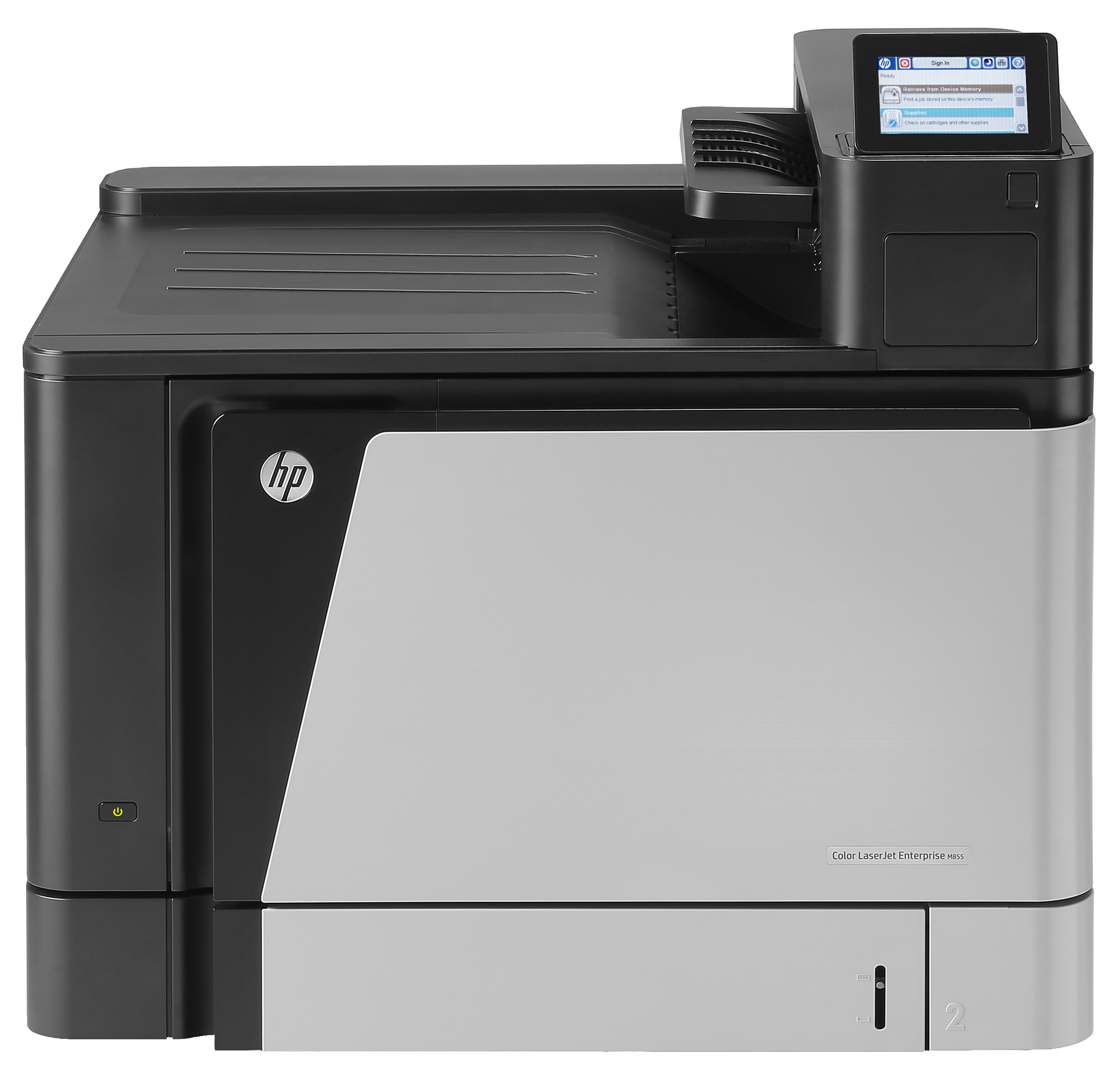 A2W77A HP LaserJet Enterprise M855DN M855 A4 A3 Colour Duplex Network Printer - Refurbished with 3 months RTB warranty
