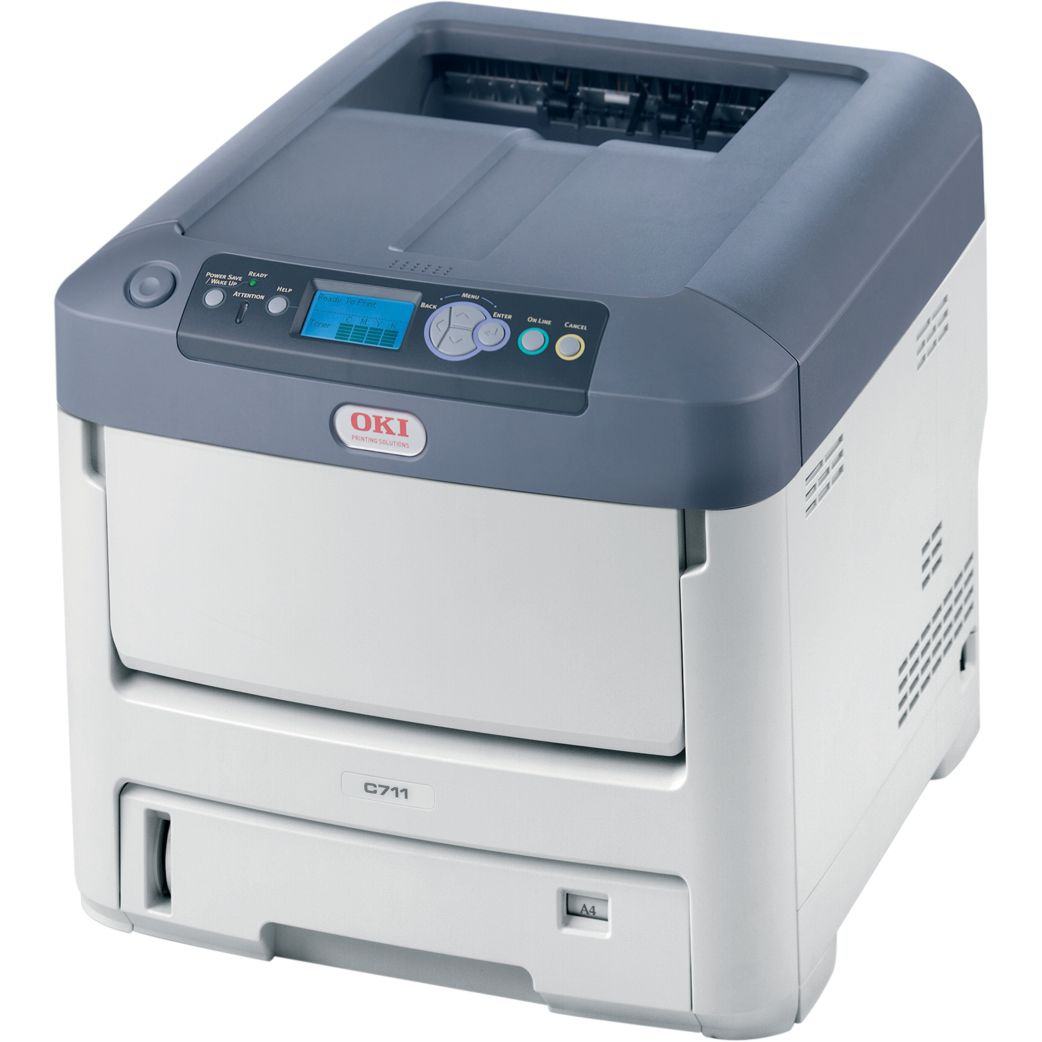 01269702 OKI C711DN C711 A4 USB LED Desktop Colour Laser Printer - Refurbished with 3 months RTB warranty