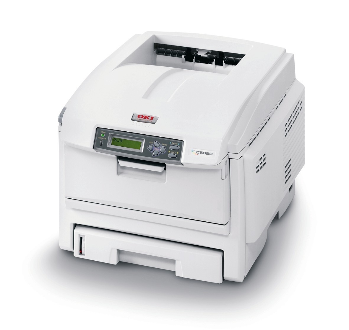 01212601 OKI C5650DN C5650 A4 Network USB Duplex Workgroup Colour Laser Printer - Refurbished with 3 months RTB warranty