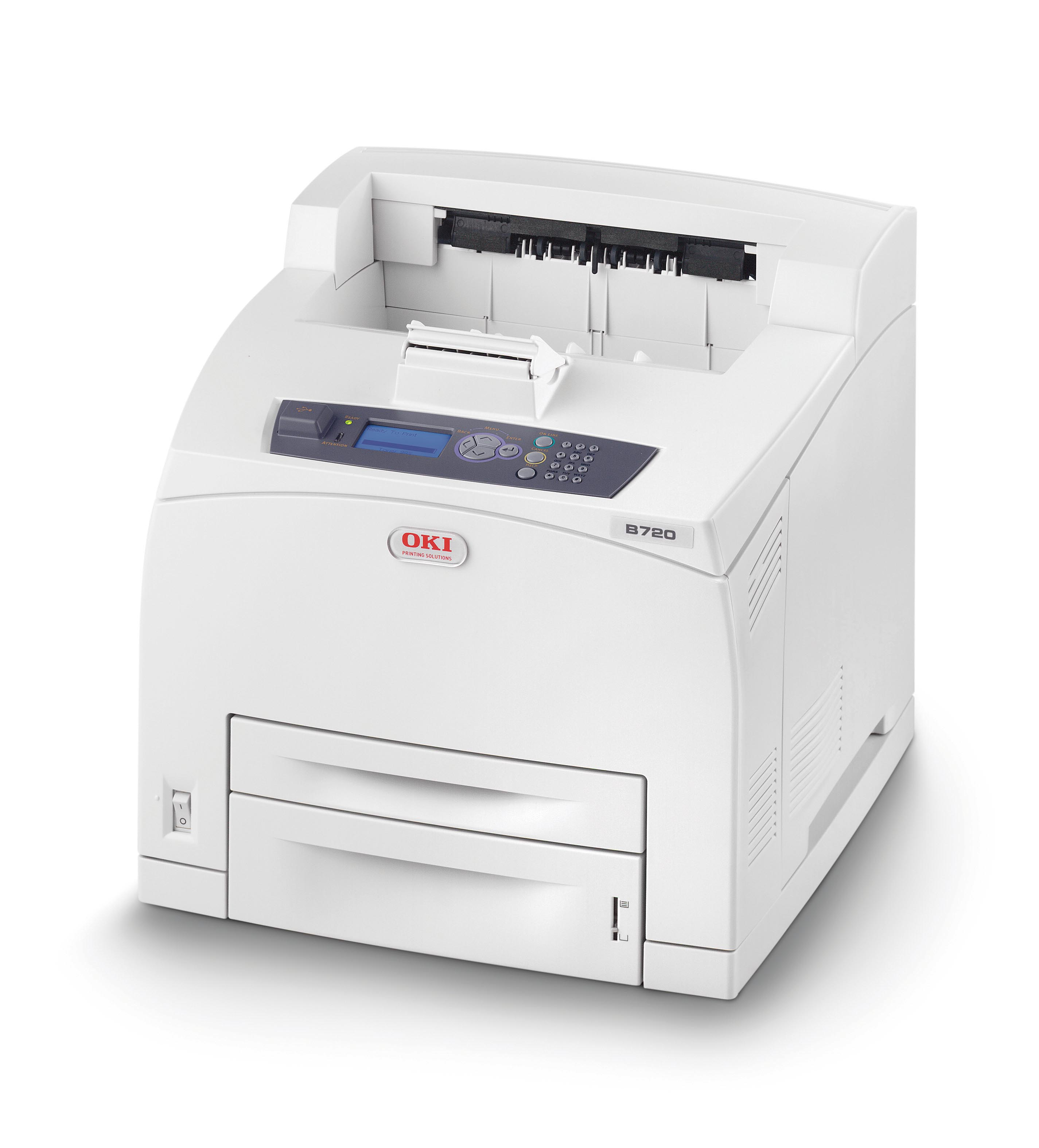 01278401 OKI B720N B720 A4 Mono LED Network Desktop Workgroup Laser Printer - Refurbished with 3 months RTB warranty