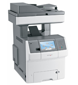 MS00364 Lexmark X738DE X738 MFP A4 Colour Multifunction Laser Printer - Refurbished with 3 months RTB warranty