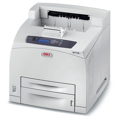 1278201 OKI B710N B710 A4 Mono Parallel Network USB Desktop Mono Printer  - Refurbished with 3 months RTB warranty