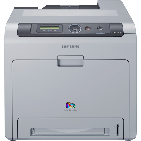 Samsung CLP-670ND CLP 670 A4 USB Ethernet Duplex Colour Laser Printer CLP-670ND - Refurbished