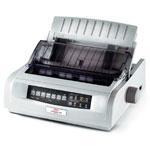 OKI Microline ML 5520 USB Parallel 9 Pin Mono A4 Dot Matrix Printer 01124602 - Refurbished
