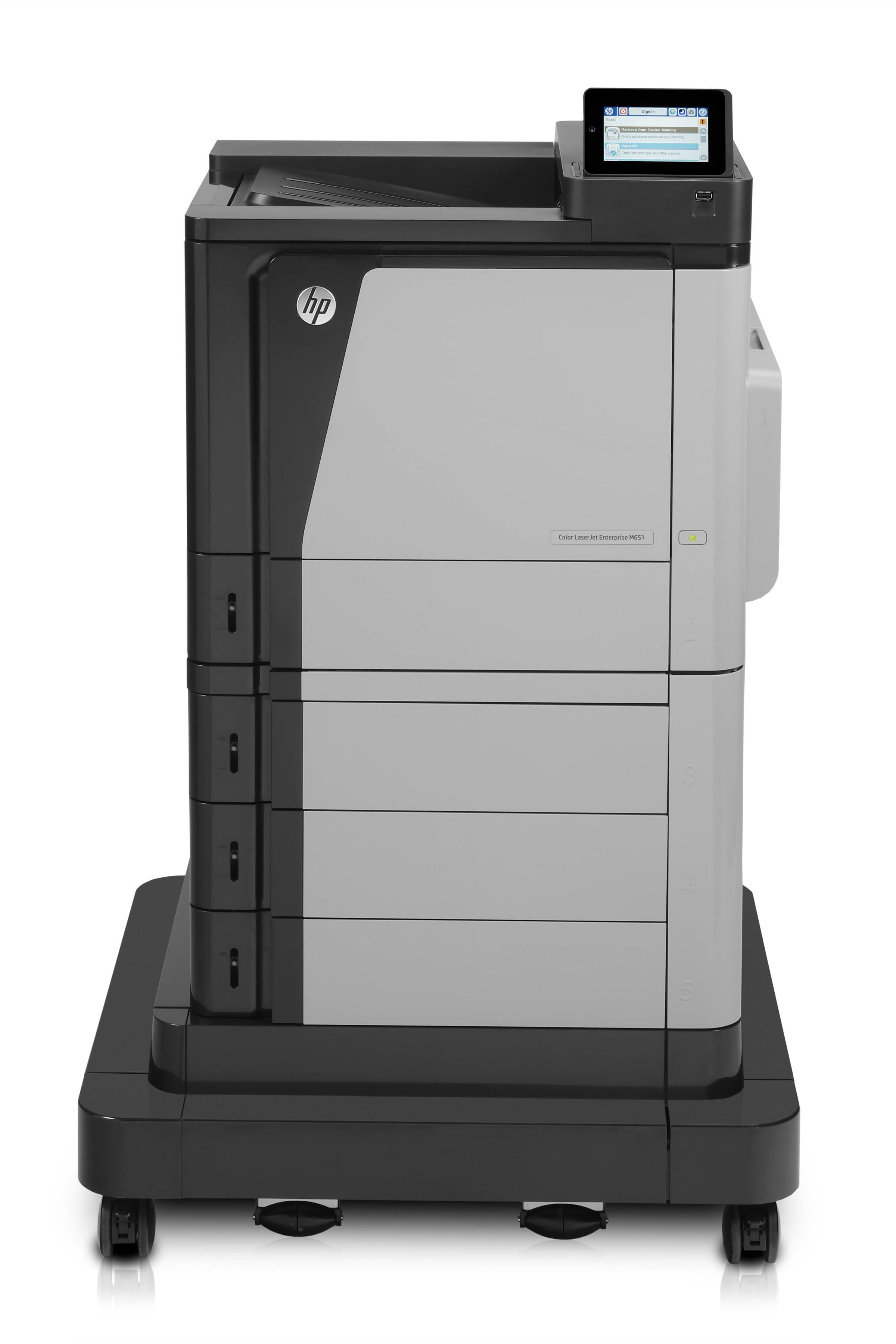 HP Colour Laserjet Enterprise M651XH Printer CZ257A - Refurbished