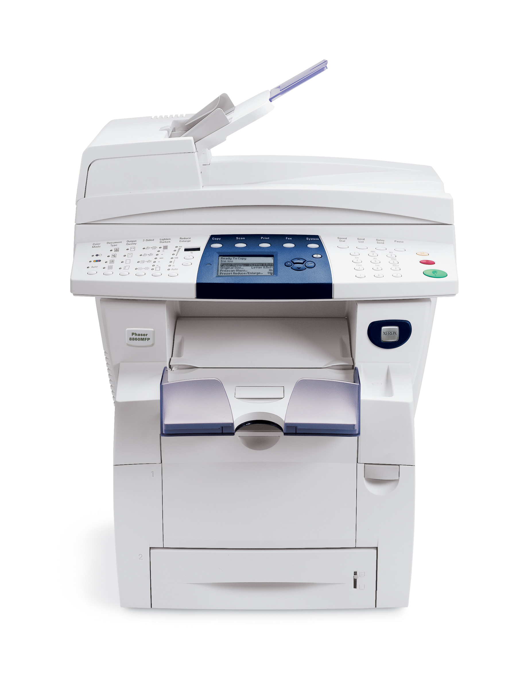Xerox Phaser 8860mfp A4 USB Network Multifunction Colour Wax Printer 8860MFP_ADM - Refurbished