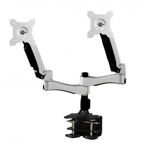 Amer - Display Mounts            Articulating Dual Monitor           Clamp Grommet                       Amr2ac