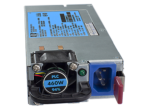 511777-001 HP Spare 460W HE 12V Hot Plug AC Power Supply Kit Factory Sealed
