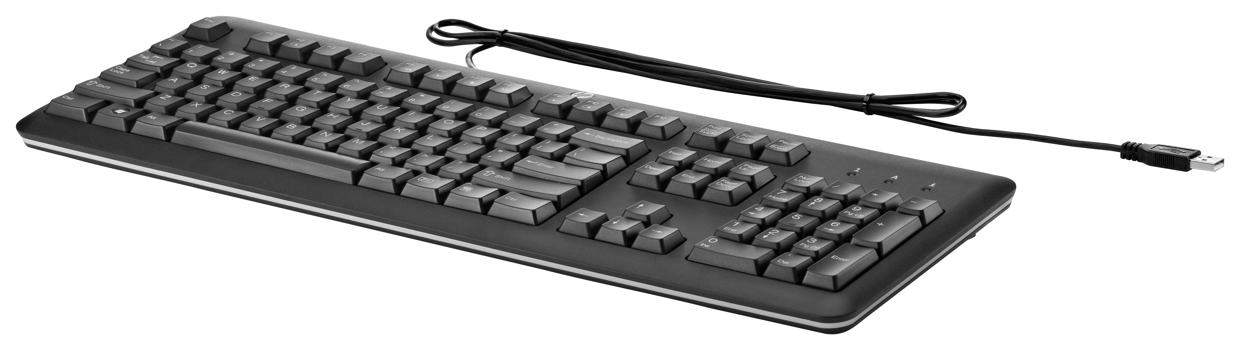 QY776AA#UUZ HP USB Keyboard For PC - Swiss Factory Sealed