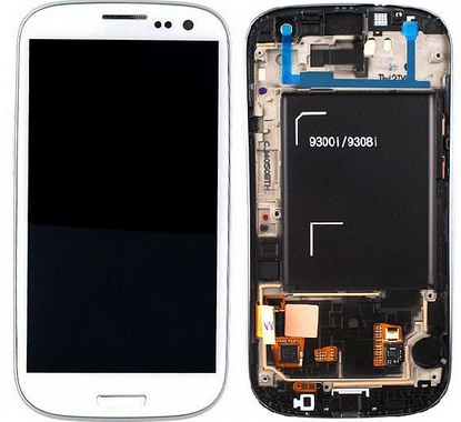 GH97-15472B Samsung Front LCD Asm Neo White GT-I9301 Galaxy S3 Factory Sealed
