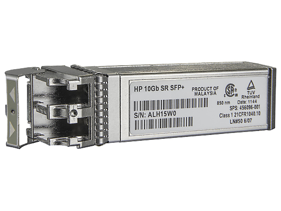 455883-B21 HP Spare 10GbE SR SFP+ Transceiver (SFP) Factory Sealed